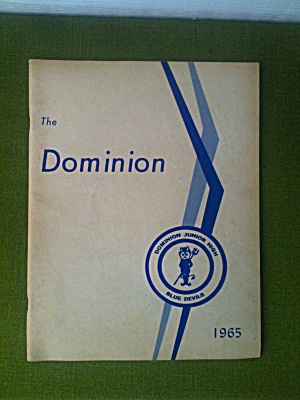 1965 Dominion School Annual Columbus Ohio