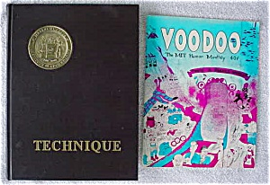 1967 Mit Yearbook/annual W/ Mit Humor Monthly
