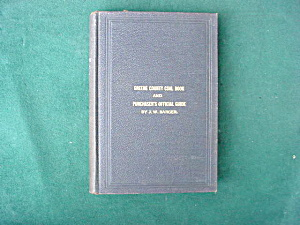 1907 Greene Co. Pa Coal Book (Image1)