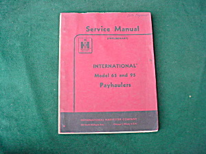 International Payhaulers Service Manual