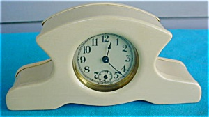 1940's Celluloid Dresser Clock (Image1)