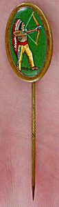 Early, Indian Stick Pin 1920's To 30's