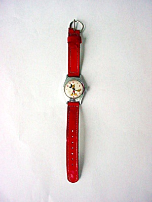 Child's US Time Mickey Mouse Wristwatch (Image1)