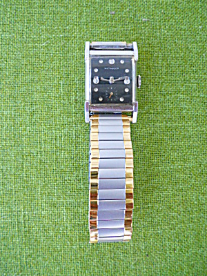 1950's Wittnauer Black Dial Wristwatch
