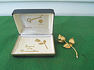Giovanni Legend of Christmas Rose Brooch (Image1)
