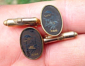 Men's Japanese Style Cufflinks K24