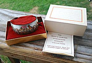 Reed & Barton Damascene Cuff Bracelet (Image1)