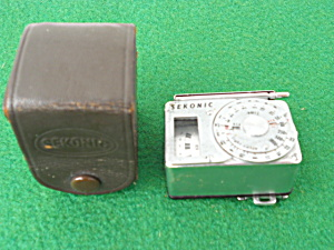 Sekonic Light Meter w/Org. Leather Case (Image1)