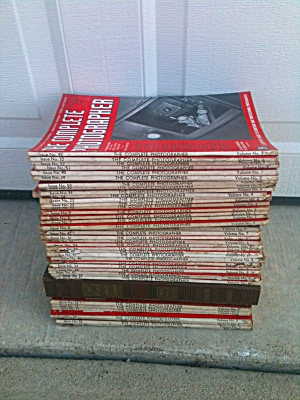 1940's The Complete Photographer Magazines