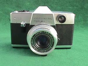 Kodak Instamatic Reflex Camera w/Lens&Tripod (Image1)
