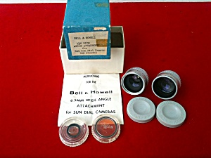 Bell & Howell Wide Angle Lenses 8mm Sun Dial (Image1)