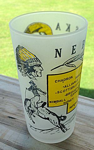 NEBRASKA State Souvenir Glass  (Image1)