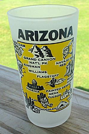 ARIZONA State Souvenir Glass  (Image1)