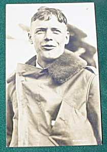 Early, Charles Lindbergh Postcard (Image1)