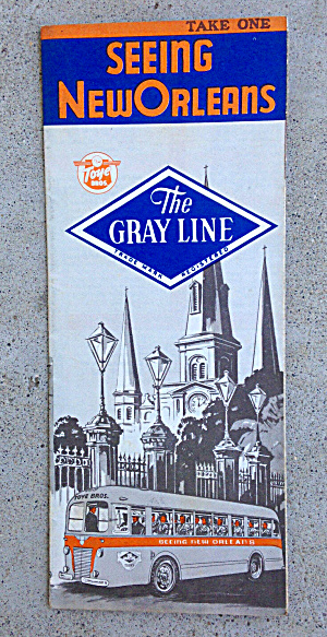 New Orleans Travel Brochure 1940's (Image1)
