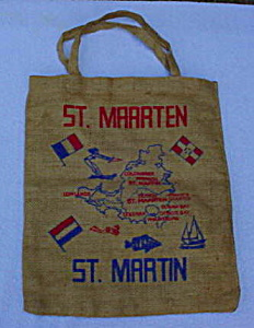 Early, St. Martin Souvenir Tote/hand Bag