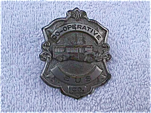 Early Co-Operative Bus Co. Hat Pin Badge (Image1)