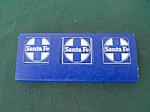 Collection Santa Fe Railroad Matchbooks