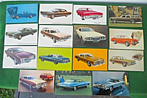 Automobile Dealer 1970's Car Postcards (Image1)