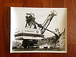 B&W Photo GEM OF EGYPT Coal Mining (Image1)