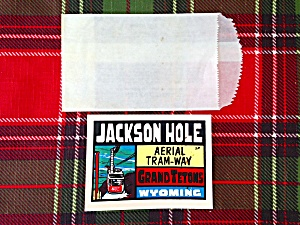 Jackson Hole, Wy Travel Decal (Image1)