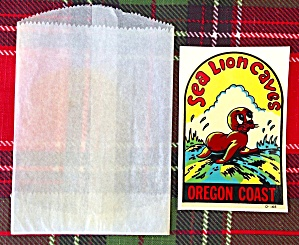 Sea Lion Caves Oregon Coast Travel Decal (Image1)