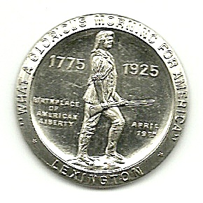 Whitehead & Hoag Battle of Lexington Coin (Image1)