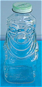 Grapette Syrup Clown Glass Coin Bank (Image1)