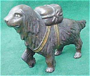 Early St. Bernard Cast Iron Bank (Image1)