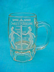 Early, Sweet Adeline Etched Beer Mug