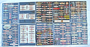 Very Lg. Collection of Old Cigar Bands/Labels (Image1)