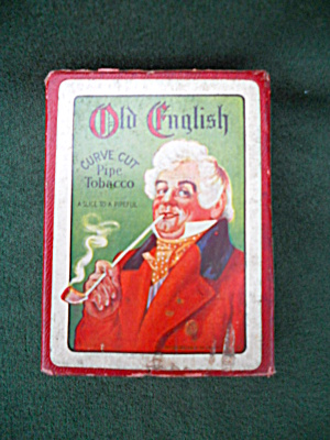 Old English Pipe Tobacco Playing Card Deck (Image1)