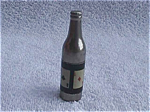 Early Deck of Cards Bottle Cigarette Lighter (Image1)
