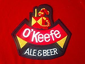 Vintage O'Keefe Beer Patch (Image1)