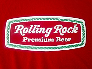 Vintage Rolling Rock Beer Patch (Image1)