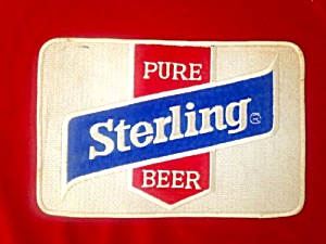 Vintage Sterling Beer Patch