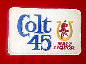 Vintage Colt 45 Beer Patch