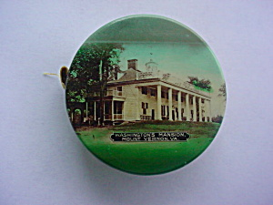 Old Souvenir Mount Vernon, Va Tape Measure (Image1)