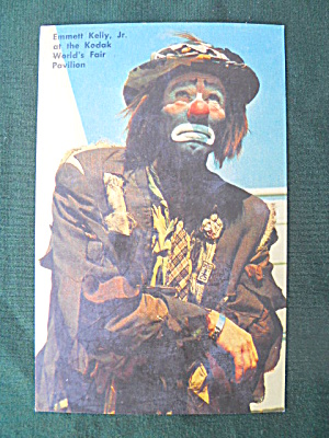 Emmett Kelly N.y World's Fair Autograph