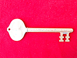 1933-34 Chicago's World Fair Souvenir Key (Image1)