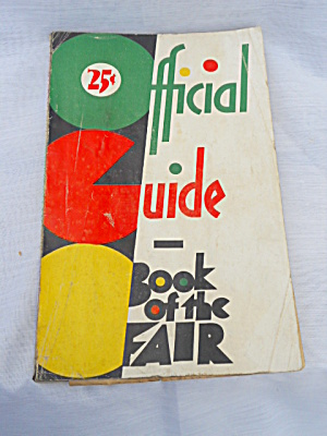 1933 Chicago World's Fair Guide (Image1)