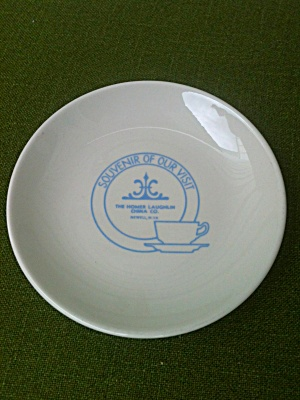 Homer Laughlin China Souvenir Plate (Image1)