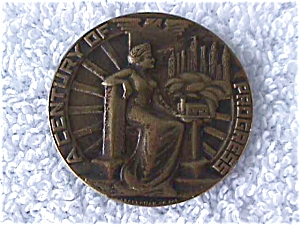 Chicago Century of Progress World Fair Medal (Image1)