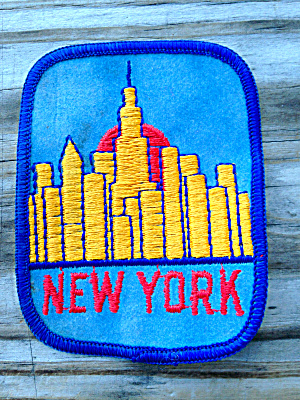 Old Patch Skyline of New York City (Image1)
