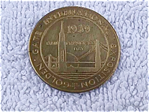 1939 San Francisco Exposition Token/Coin (Image1)