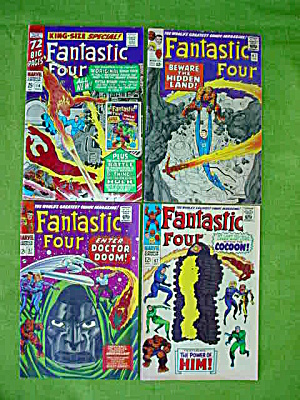 Fantastic Four Comic Collection #4KS 47,57,67 (Image1)