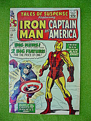 Tale of Suspense #59 Iron Man & Capt. America (Image1)