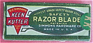 Keen Kutter Safety Razor Blades w/Org. Box (Image1)