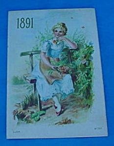 1891 Wheeling, Wv Adver. Calendar (Image1)