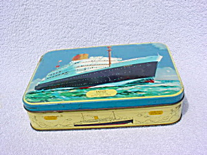 Benson's England Candy Tin w/Andes Ship (Image1)